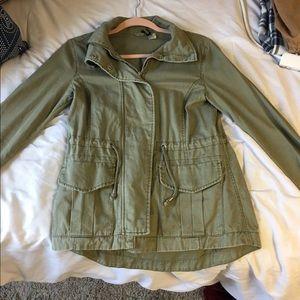 Green cargo jacket